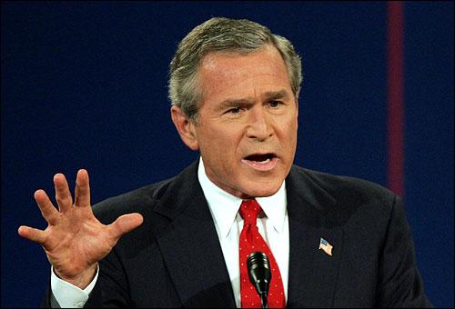 조지 부시 미국 대통령. 조지 부시 미국 대통령.